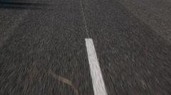 Lines on the Asphalt Road Arkistovideo
