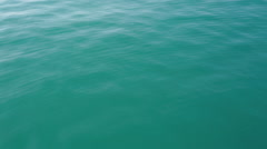 Transparent quiet sea water Stock Footage