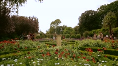 Holland Park In West London Stock Footage
