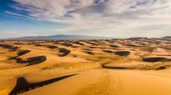 Dunes in the Gobi desert. Mongolia Stock Footage