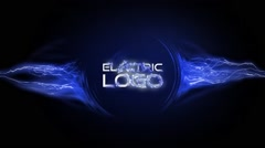 Electric Logo Stock After Effects