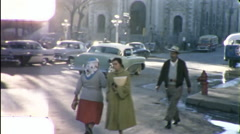 Mexicans Juarez Mexico Street Scene 1960s Vintage Film Home Movie 9855 Stock Footage