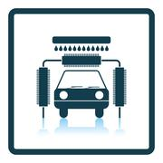 Car wash icon Stock Illustration