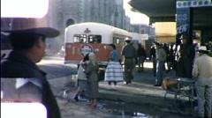 People Mexican Street Corner Juarez Mexico 1960s Vintage Film Home Movie 9853 Stock Footage