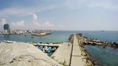 Gallipoli, Apulia, Salento, Real Time, 4k Stock Footage