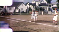Boys Play BASEBALL Game American Team Sport 1960s Vintage Film Home Movie 9916 Footage
