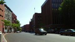 Downtown Portland, Maine Stock Footage