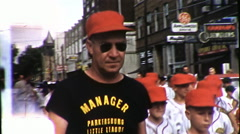 Manager Man Baseball Team Coach Sport Trainer 1960s Vintage Film Home Movie 9878 Stock Footage
