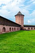 Monastery of Saint Euthymius Wall, Suzdal Stock Photos