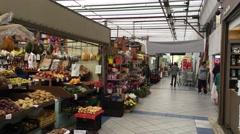 The Market of Vila Formosa in Sao Paulo, Brazil - stock footage