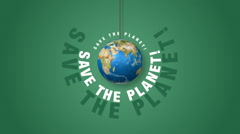 Save The Planet! Stock Footage
