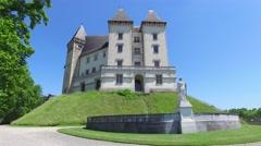 Castle Chateau de Pau Stock Footage