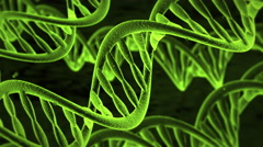 DNA Molecules Stock Footage