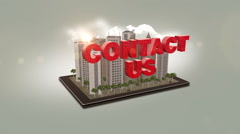 Contact Us Stock Footage