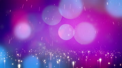 Abstract light rain background animation Stock Footage