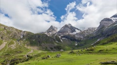 Cirque de Troumouse - the glacial cirque in Pyrenees Stock Footage
