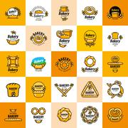 Vector logo bread Stock Illustration