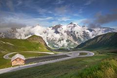 Grossglockner - High Alpine Road Stock Photos