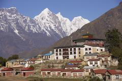 Buddhist Monastery - stock photo