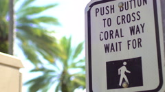 Coral Way in Miami Stock Footage