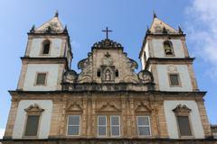 São Francisco Church and Convent, Pelourinho, Salvador, Bahia Stock Photos