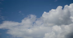 Sky Clouds running Timelapse Stock Footage