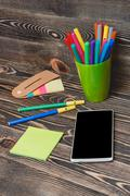 School and Office Supplies Stock Photos