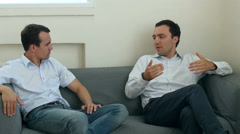 Two businessmen having discussion in office Arkistovideo