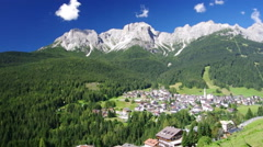 Padola, Dolomiti venete Stock Footage