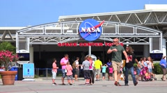 KENNEDY SPACE CENTER, FLORIDA Stock Footage