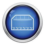 Greenhouse icon Stock Illustration