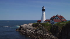 Portland Head Light Stock Footage
