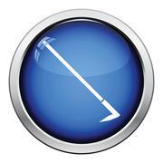 Hoe icon Stock Illustration