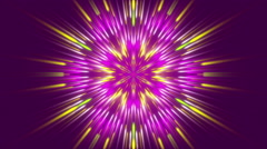 purple abstract background, moving particles light, loop - stock footage