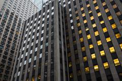 Manhattan modern architecture - stock photo