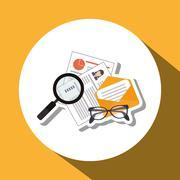 Human Resources design Stock Illustration