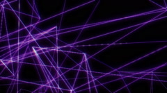 Line vector background Stock Footage