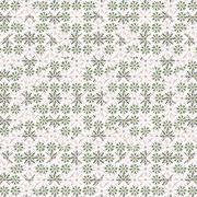 Ditsy Stylized Floral Seamless Pattern Stock Illustration
