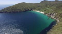 Keem Bay, Achill Island, Ireland Stock Footage