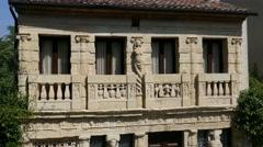 "Asolo  - The ""Casa Longobarda"" Stock Footage"