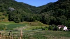 Asolo - Monfumo hills - Tilt lens Stock Footage