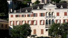 Asolo - Villa Scotti Pasini Stock Footage