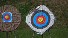 Target Archery: Target Stock Footage