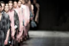Fashion Show, Catwalk Event, Runway Show themed photo blurred on purpose Stock Photos