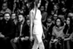 Fashion Show, A Catwalk Event, Blurred On Purpose Stock Photos