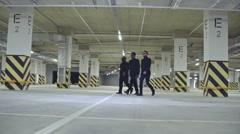 Mafia Man Intimidation Stock Footage