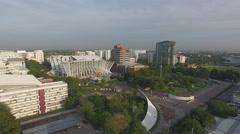 Aerial Thailand university 4k Stock Footage