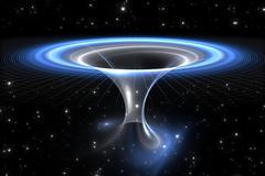 Wormhole or blackhole Stock Illustration