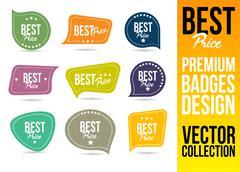 Best Price Logo Badge Emblem Stock Illustration