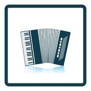 Accordion icon Stock Illustration